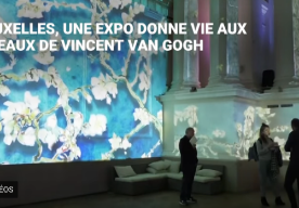 Vincent Van Gogh and his paintings come alive...