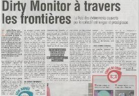 Dirty Monitor across frontiers