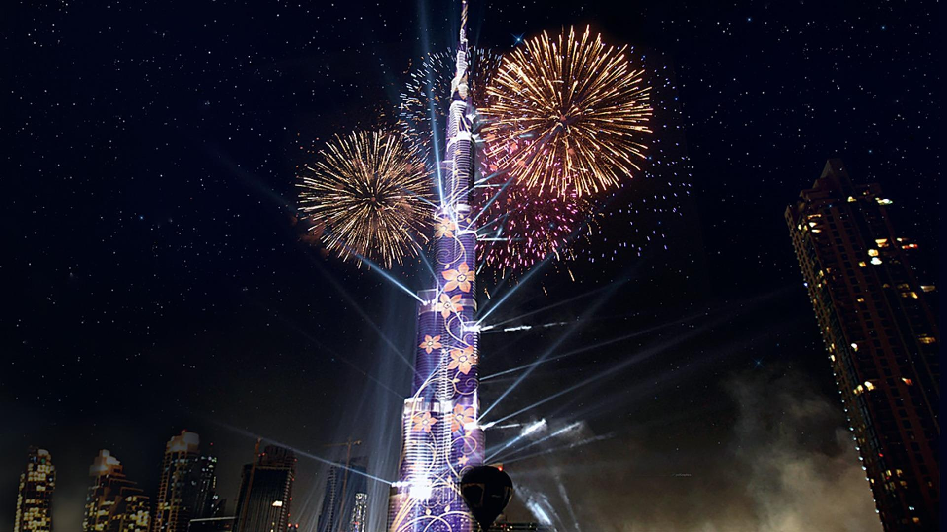 Countdown New Year 2015 & 2016 - Dubaï